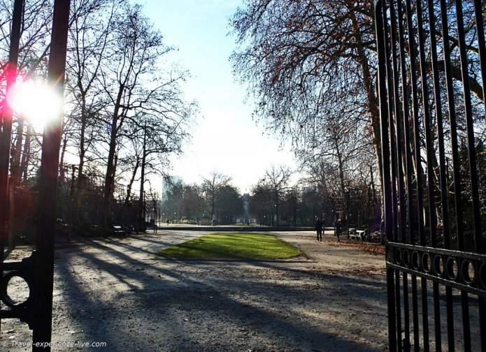 Brussels Park, Belgium.
