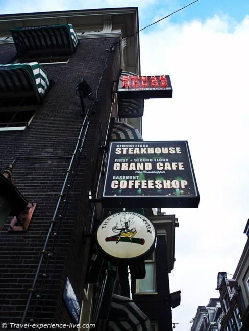Coffeeshop/Café/Steakhouse in Amsterdam.