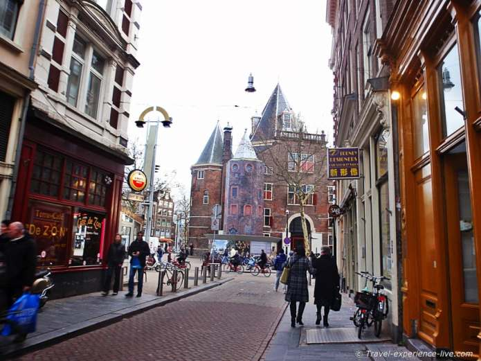Random street in Amsterdam.