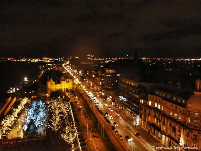 View of Antwerp, Belgium.
