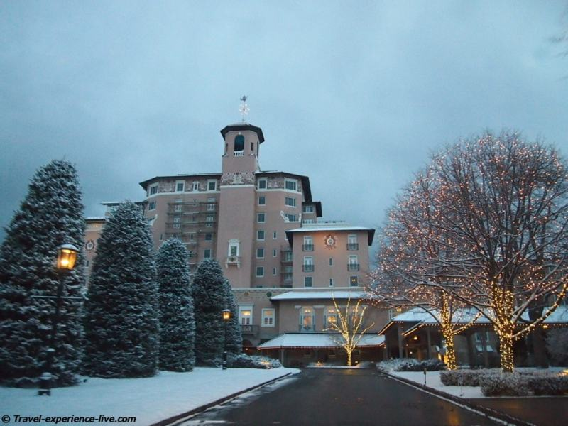 The Broadmoor, Colorado Springs.