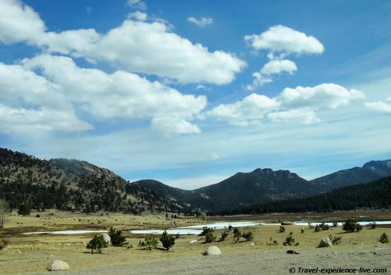 Rocky Mountains in Colorado.