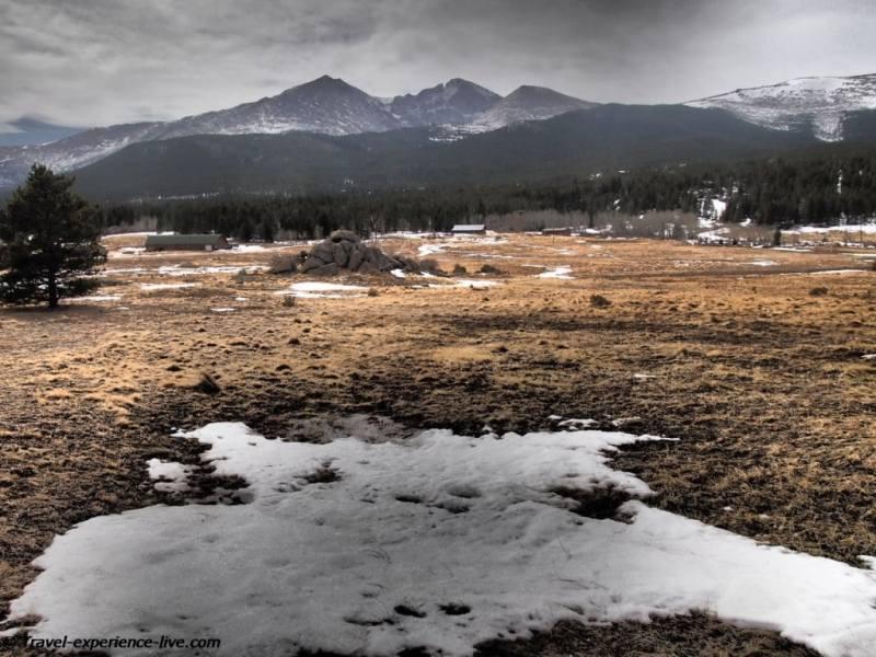 Longs Peak, Rocky Mountains, Colorado.