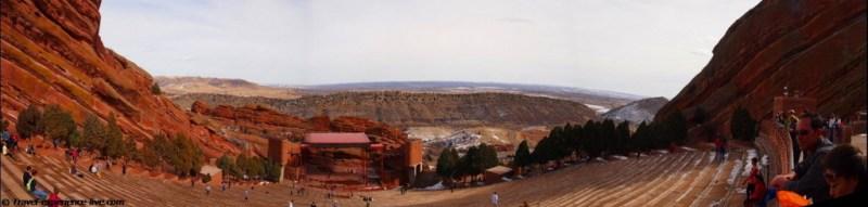 Red Rocks Amphitheatre, Denver, Colorado.