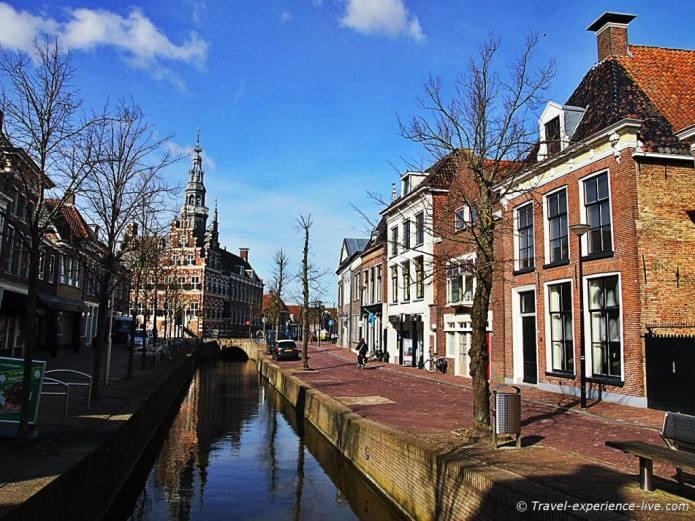 Franeker, province of Frisia, Netherlands.
