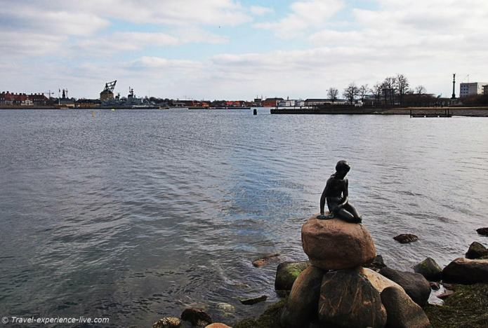 Little Mermaid in Copenhagen, Denmark.