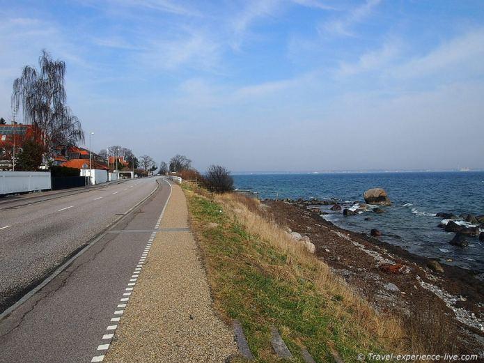 Beautiful ride along the Danish coastline.