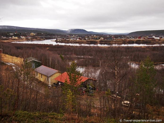 Karasjok in Lapland, Finnmark, Norway.