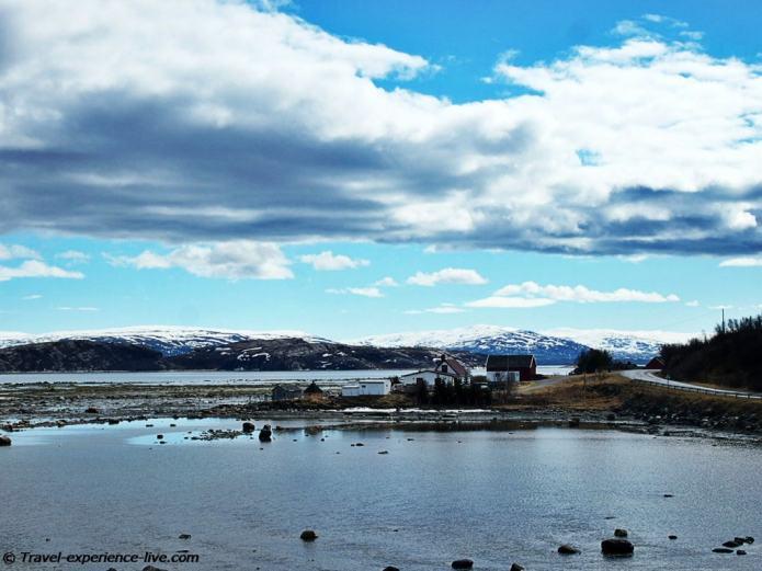 Porsangerfjord, Finnmark, Norway.