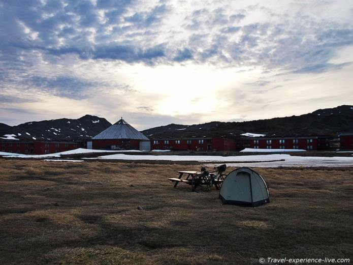Camp ground North Cape.