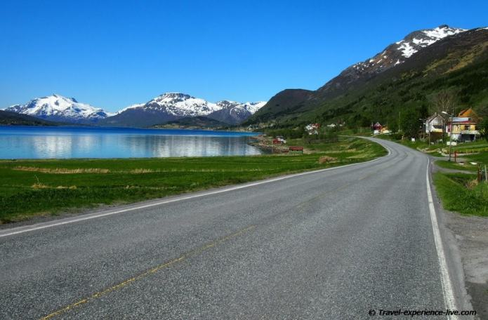 Landscape in Norway.