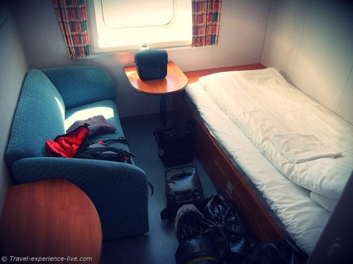 Cargo ship cabin, Gothenburg.