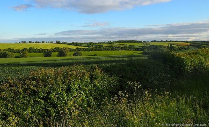 Gorgeous English countryside.