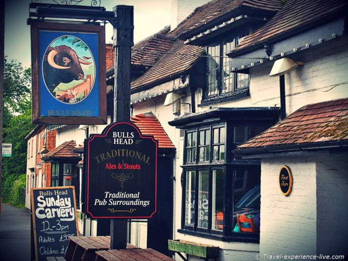 Bulls Head Inn, England.