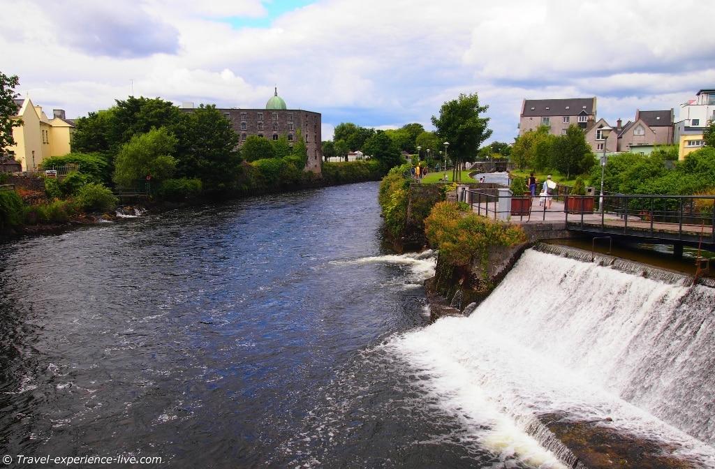 River Corrib, Galway, Ireland.