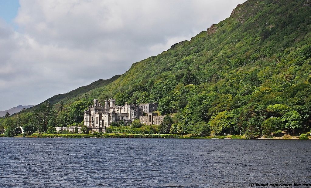 Kylemore Abbey in Connemara, Ireland.
