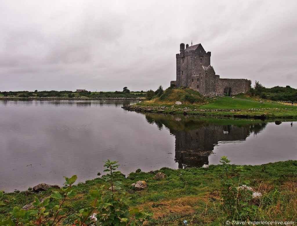 Dunguaire Castle, Irish west coast.