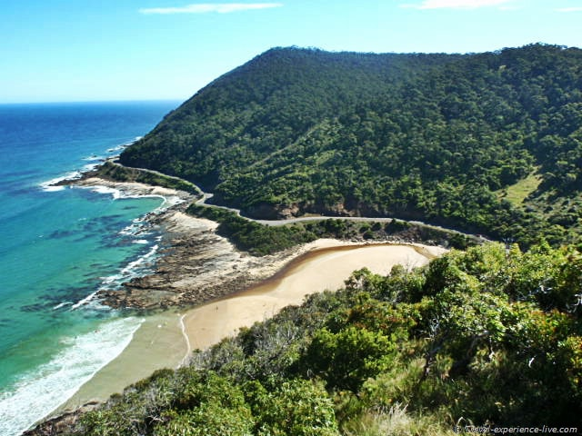 The Great Ocean Road, seen from Teddy's Lookout