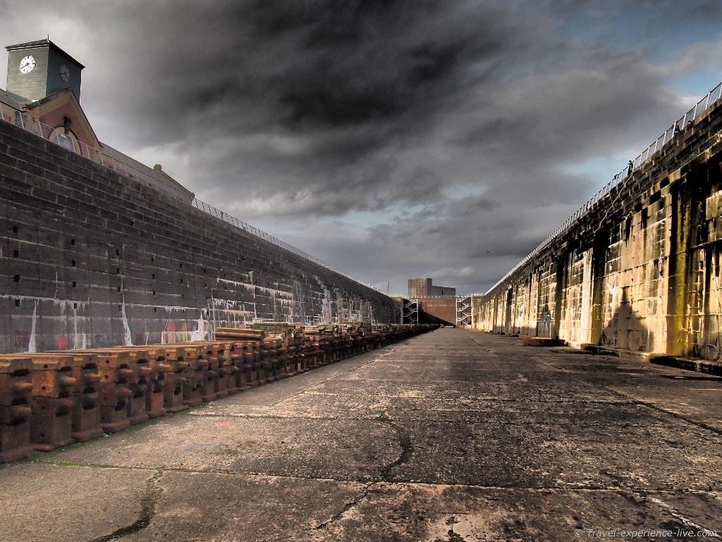 Thompson Graving Dock, Belfast, Northern Ireland