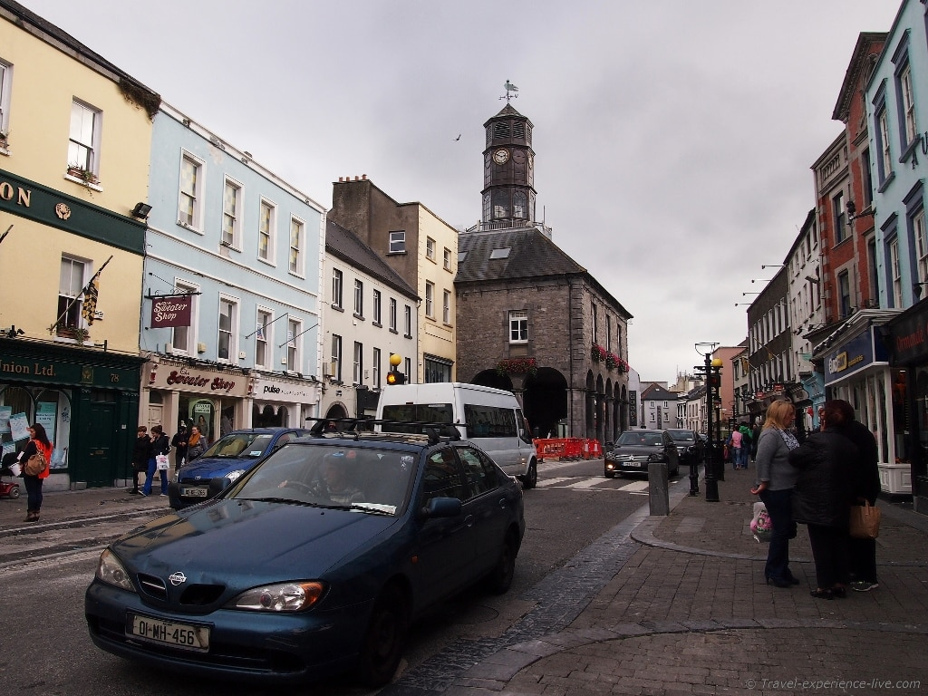 Tholsel on Hight Street in Kilkenny