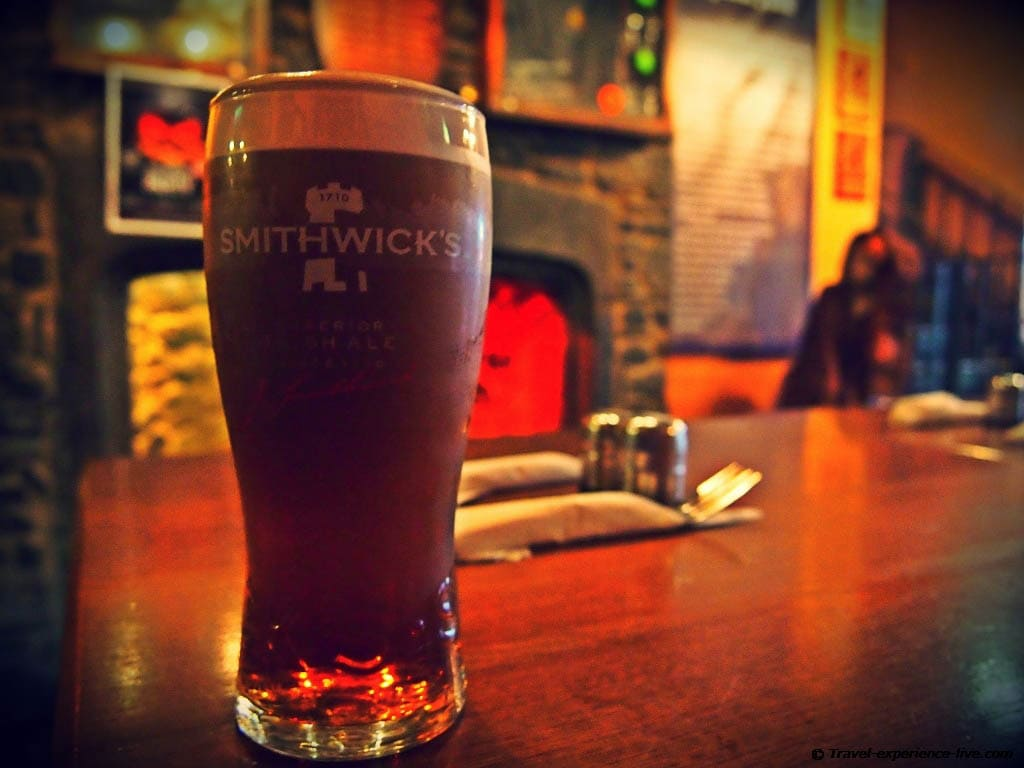 Kilkenny in a Smithwick's glass