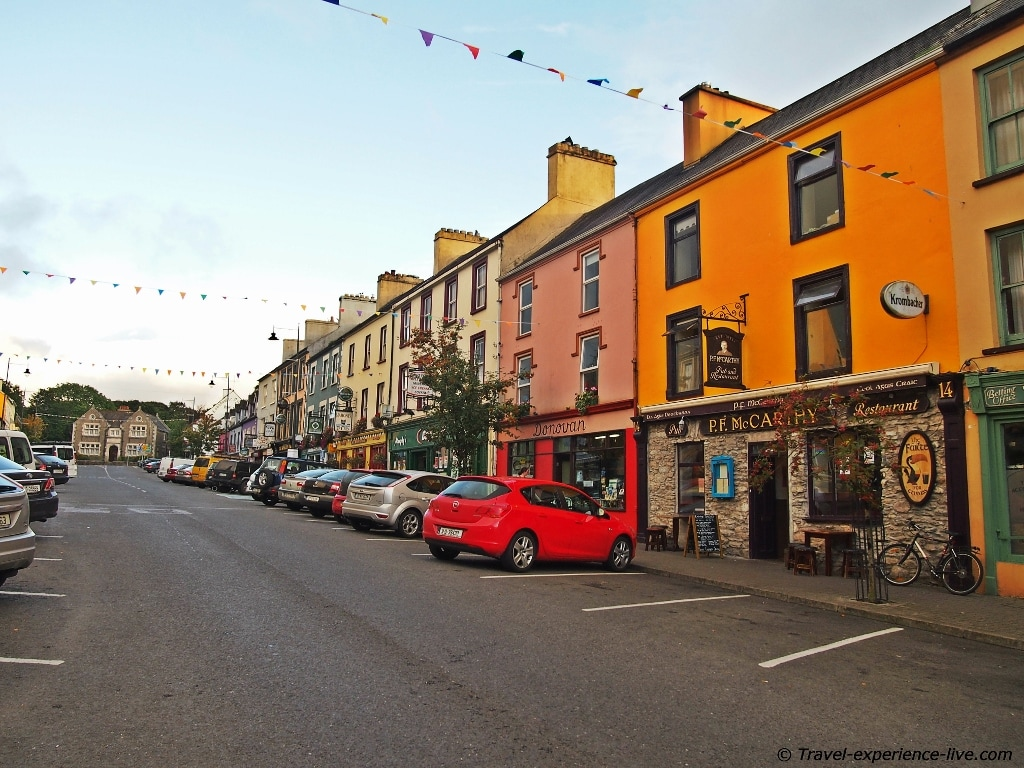 Irish streets: Kenmare, Ring of Kerry.