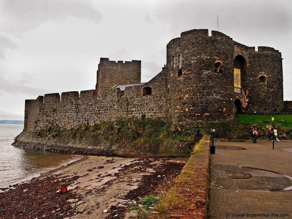 Irish heritage: Carrickfergus Castle
