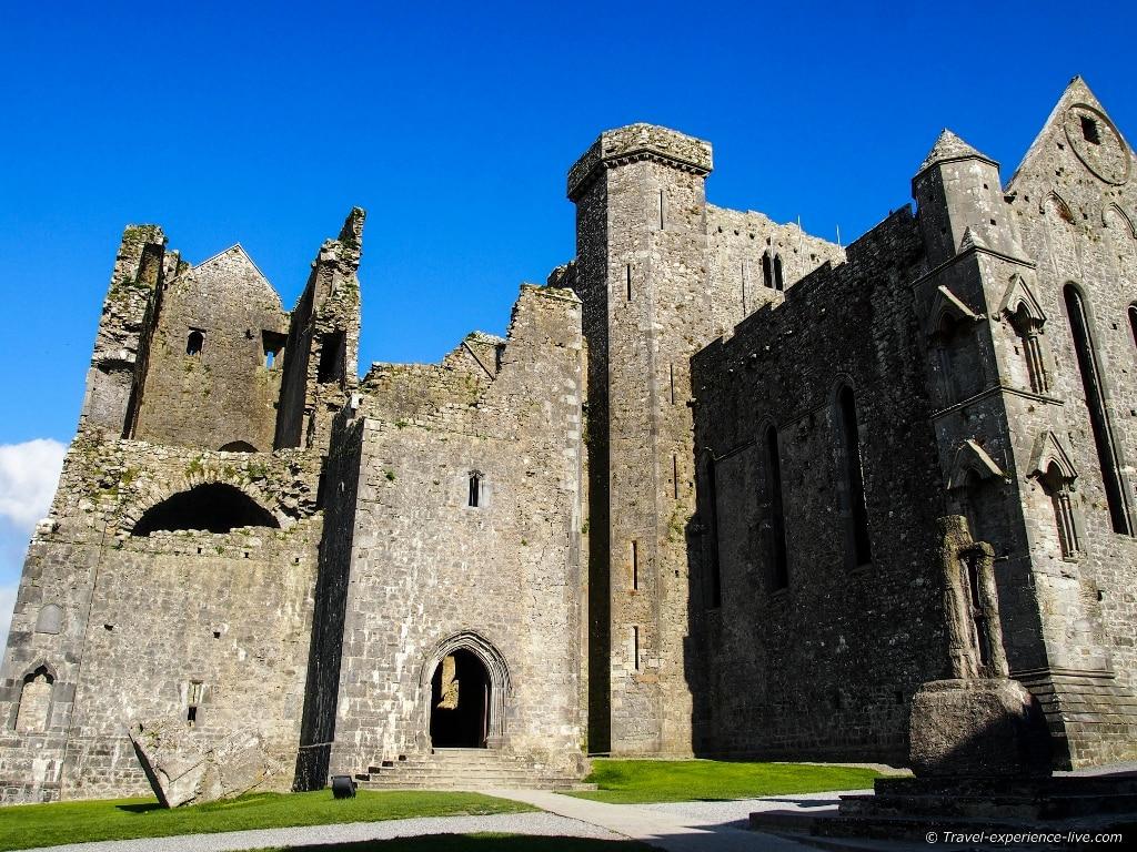 Irish heritage: Cathedral at Rock of Cashel.