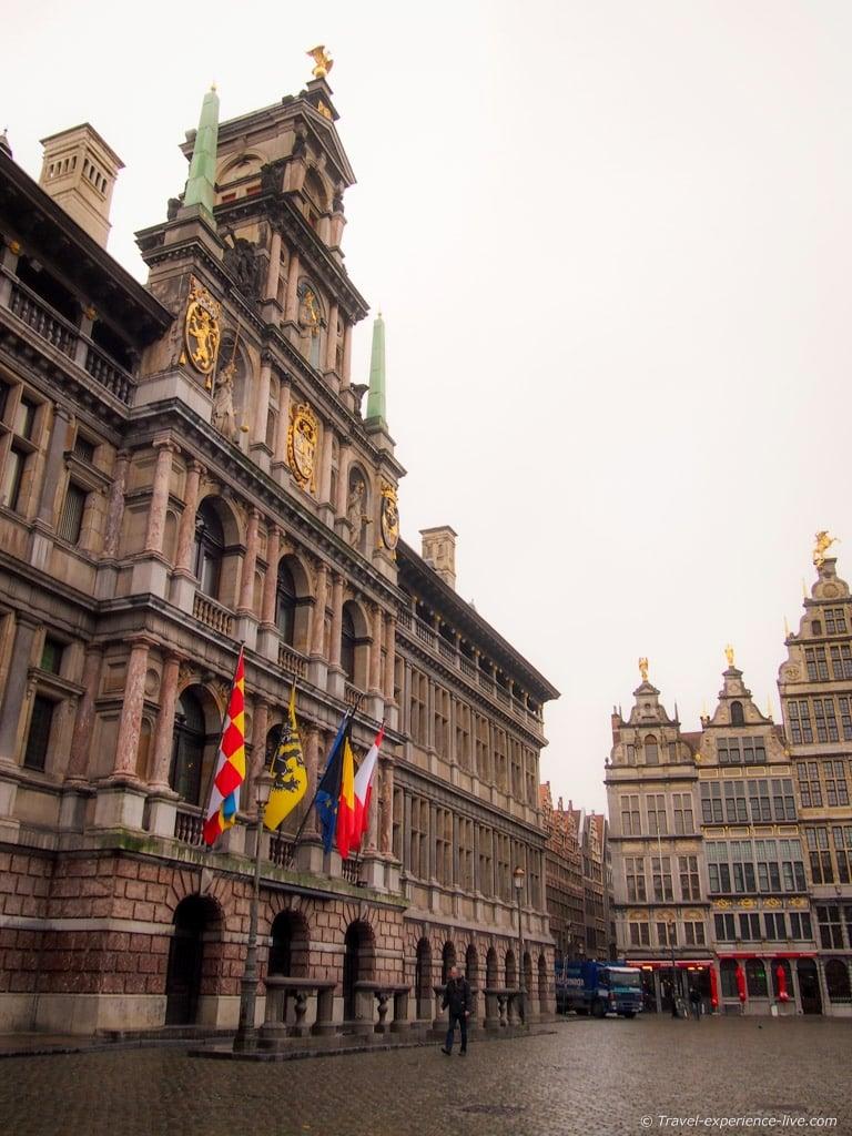 Town Hall of Antwerp, Belgium.