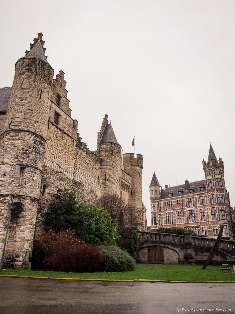 Het Steen fortress in Antwerp.