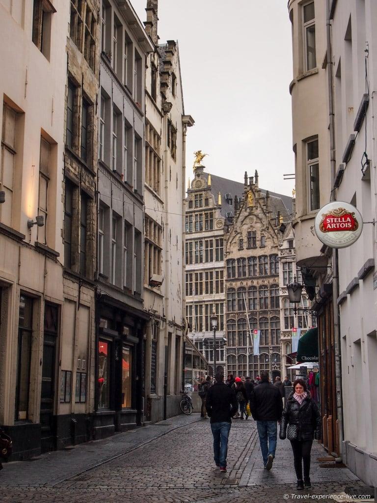Streets of Antwerp.