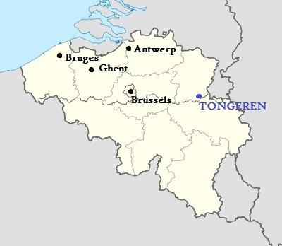 Location Tongeren, Belgium