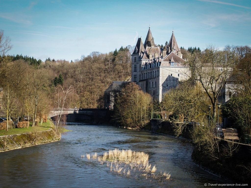 Castle of the Counts of Ursel in Durbuy, Belgium