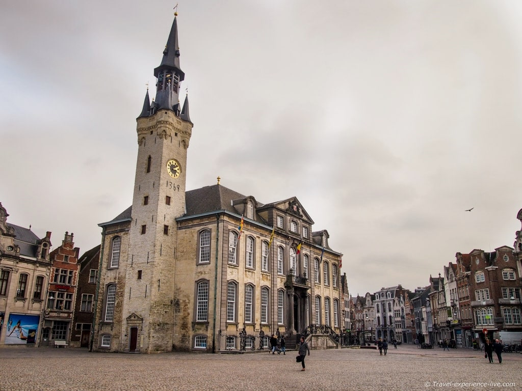 Belfry and Town Hall of Lier, Belgium