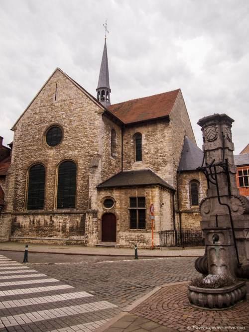Saint Peter's Chapel, Lier, Belgium.