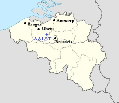 Location Aalst, Belgium