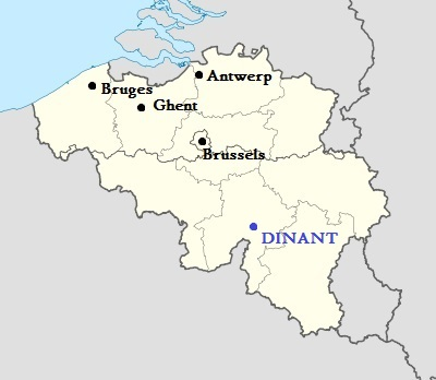 Location Dinant, Belgium