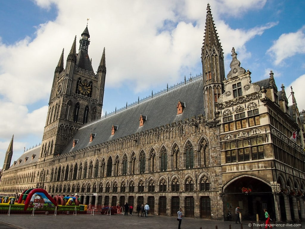 Cloth Hall of Ypres, Belgium.