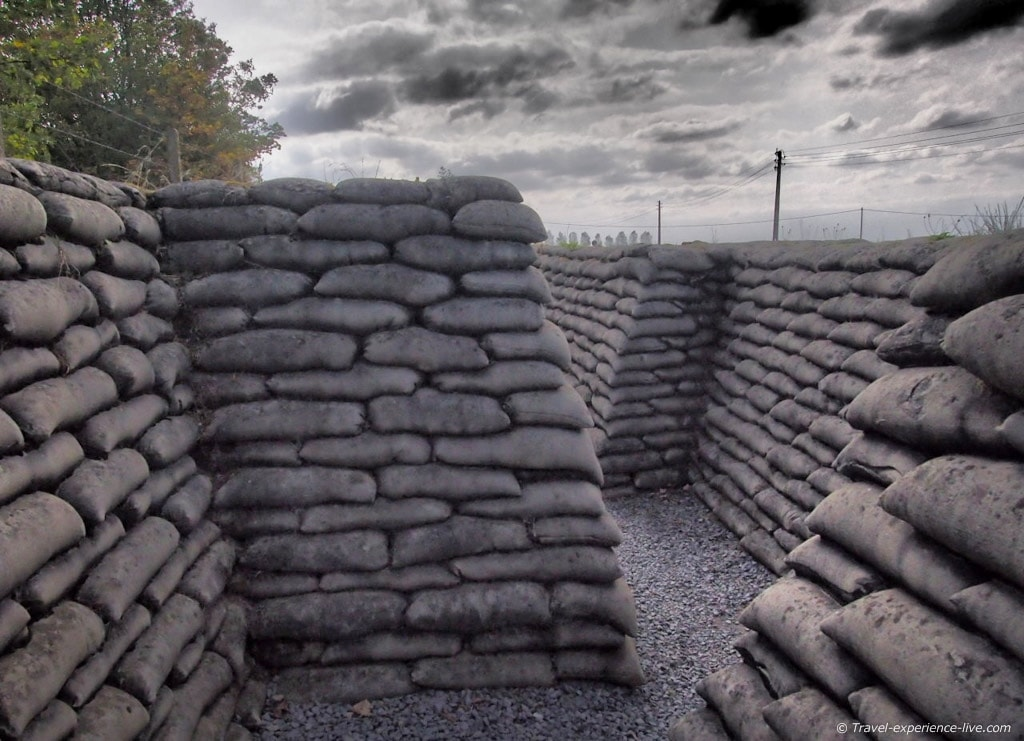 The Trench of Death, Belgium