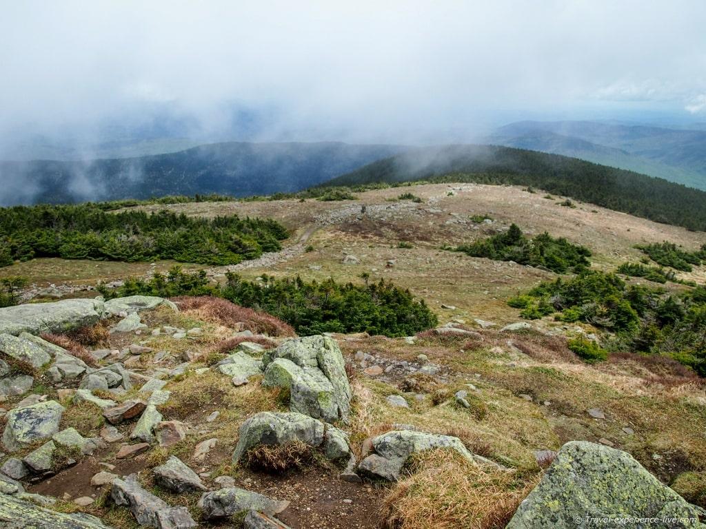 Mount Moosilauke summit.
