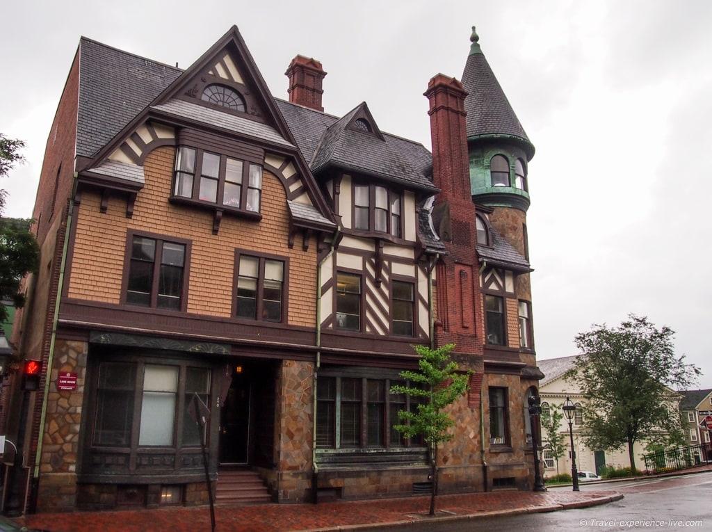 Benefit Street in Providence, Rhode Island.