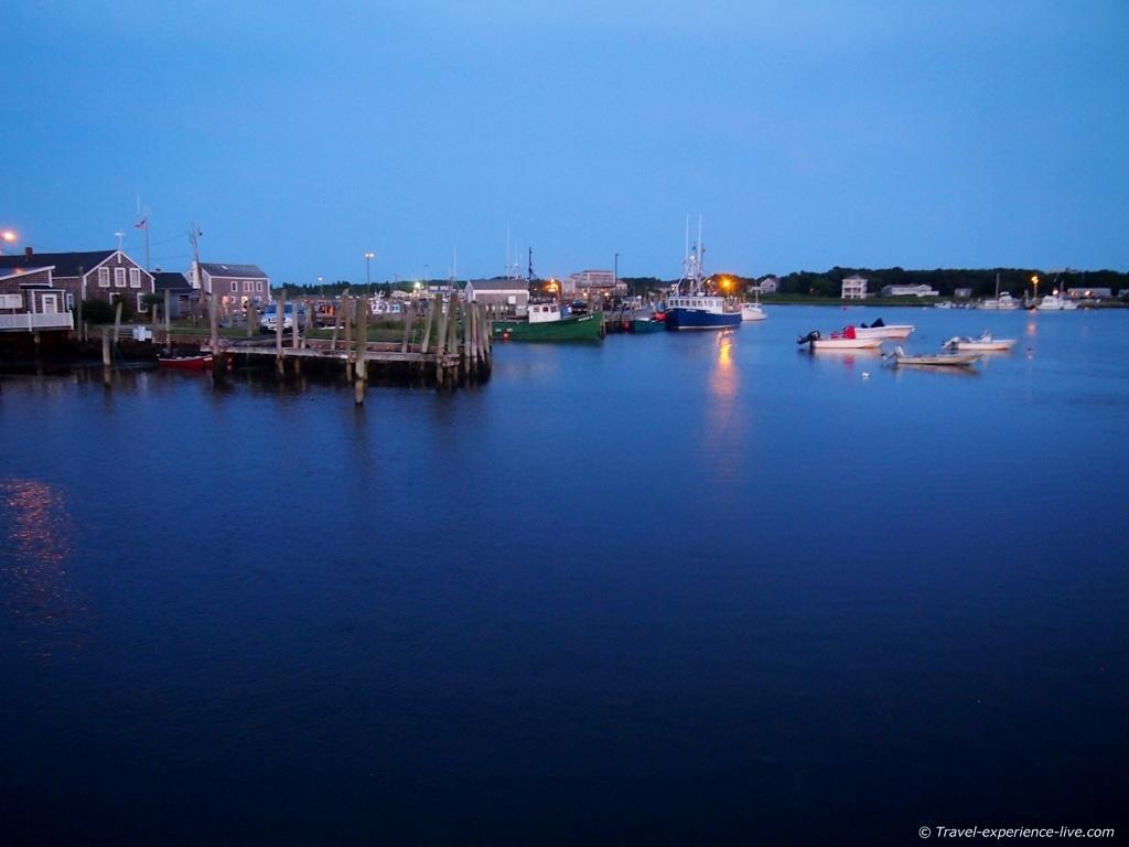 Harbor of Westport Point, MA.