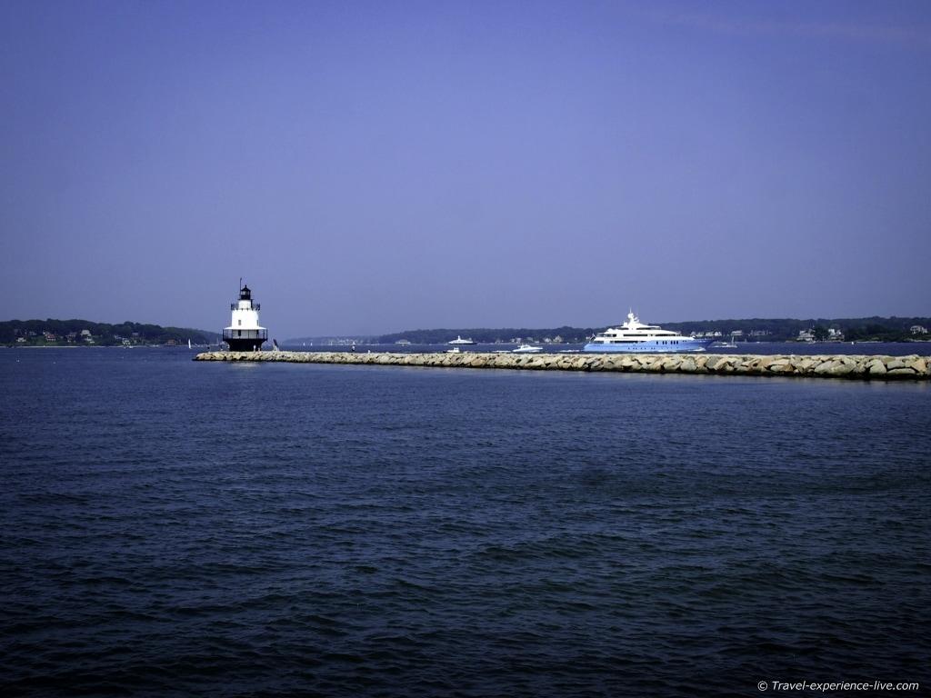 Spring Point Ledge Lighthouse, Portland, Maine.