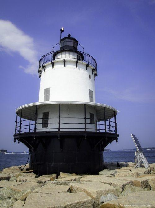 Spring Point Ledge Lighthouse.