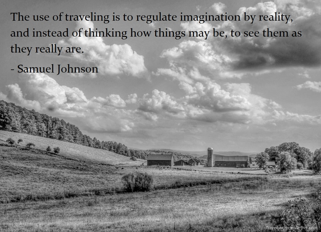 Travel Quote by Samuel Johnson.