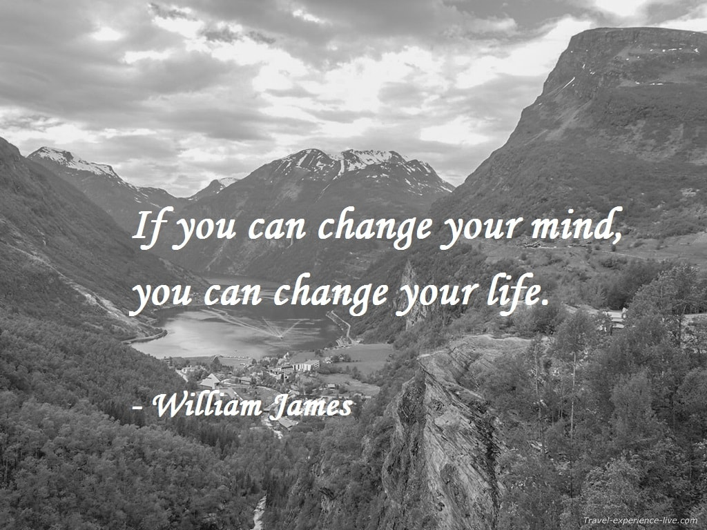 Life Quote by William James.