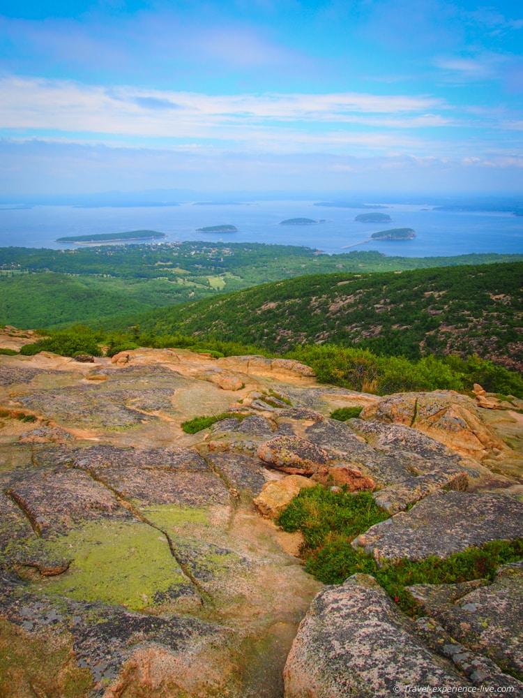 Hiking Cadillac Mountain Maine Travel Experience Live