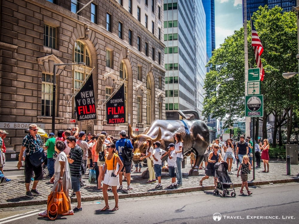 Capitalism on Wall Street, New York City