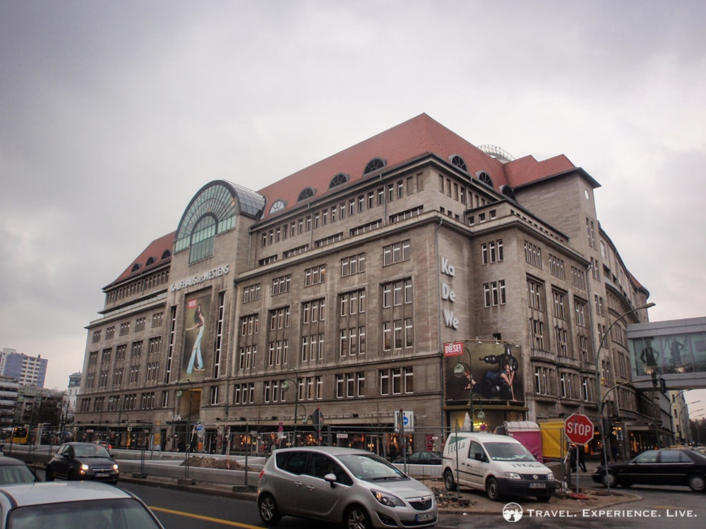 The KaDeWe, Europe's largest department store