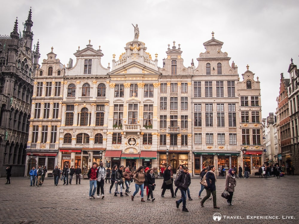 Guildhalls at the Grand Place
